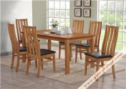 VEVINA DINING SET ( 1+6 )